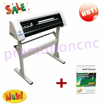 24 Vinyl Cutter Sign Cutting Plotter Usb Port Craft Cut Designcut Great
