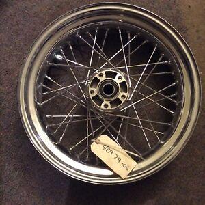 2006 2007 Harley-Davidson Dyna Superglide Wire Spoked Rear Wheel