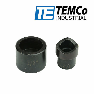 Temco 12 Conduit Punch And Die For Hydraulic Knock Out Driver