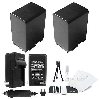 2x BP-828 Battery + Charger for Canon HF-M40 HF-M41 HF-S30 HF-G20 HF-G30