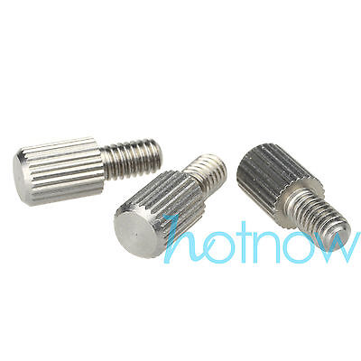 1pc M4 x 7mm Toolless Thumb Screw Telescope Finder guider screw