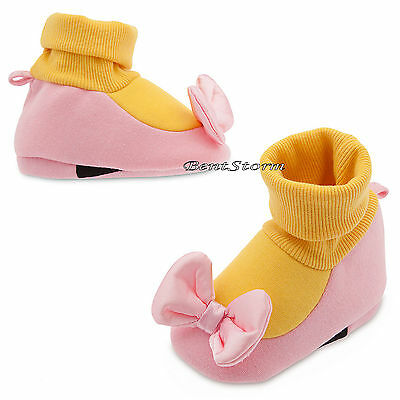 Daisy Duck Costume Dress Up Baby SHOES SLIPPERS Disney Store 0-18 Months NWT - Child Daisy Duck Costume