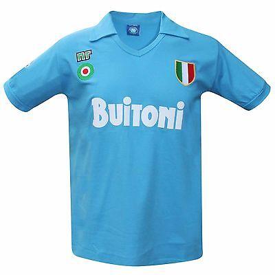 Vintage Napoli 1987/88 Retro Shirt (BUITONI)