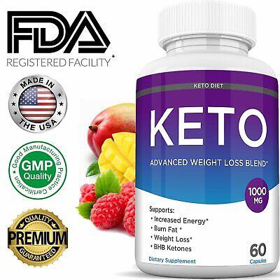 Keto Diet BURN Pills 1000MG Best Ketone Boost Weight Loss Fat Burner Supplement