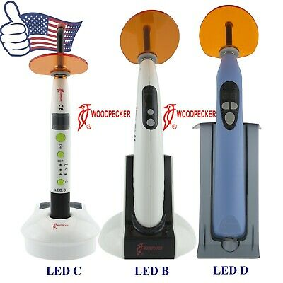 Us Original Woodpecker Dental Curing Lights Wireless Resin Cure Lamp Led B C D