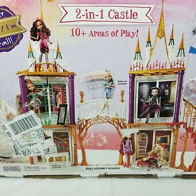 New 505564  Ever After High 2 In1 Castle Playset Action Doll house