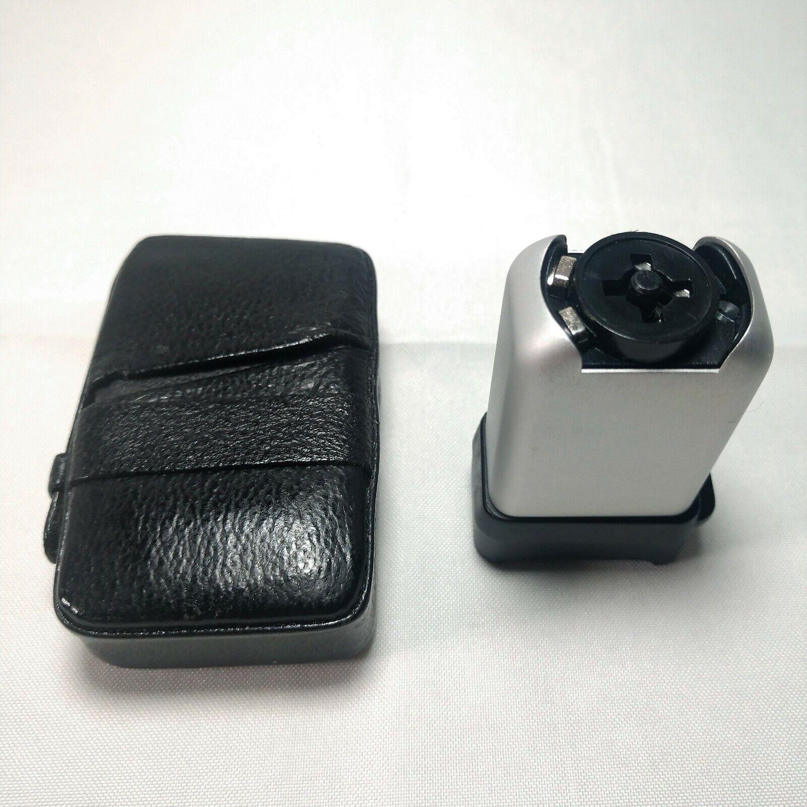 MINOX Cube Flasher FL4 Chrome Flashgun Subminiature 8x11 German Spy Camera Flash