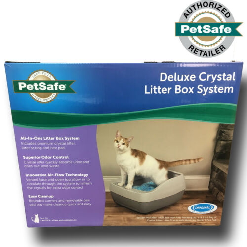PetSafe Deluxe Crystal Litter Box System PWM00-16580