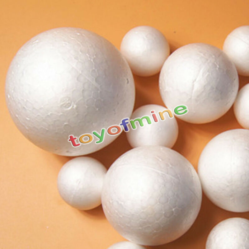 120mm Large Szie Modelling Styrofoam Ball Xmas Tree Wedding Party Decor Ornaments