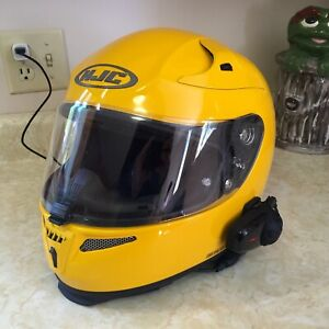 HJC RPS10 RHPA10 helmet with Sena SMH10 Bluetooth
