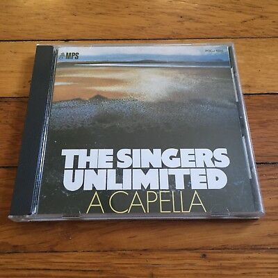 The Singers Unlimited    The Singers Unlimited  Acapella Cd