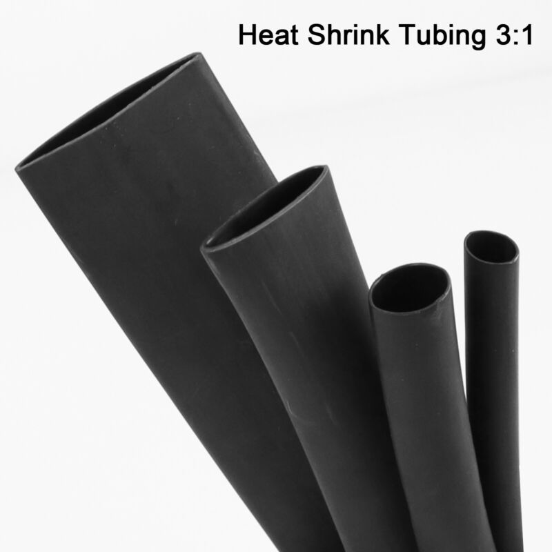 Heat Shrink Tubing 3:1 Marine Grade Wire Wrap Adhesive Glue Lined Waterproof