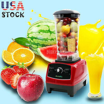 2l 2200w Heavy Commercial Blender Mixer Juicer Food Processor Fruit Blender Usa
