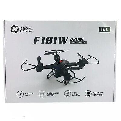 Blessed Stone F181W 1080P WiFi FPV Drone Wide-Angle HD Camera Headless Altitude NIB