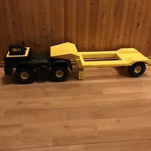 Tonka truck and trailer