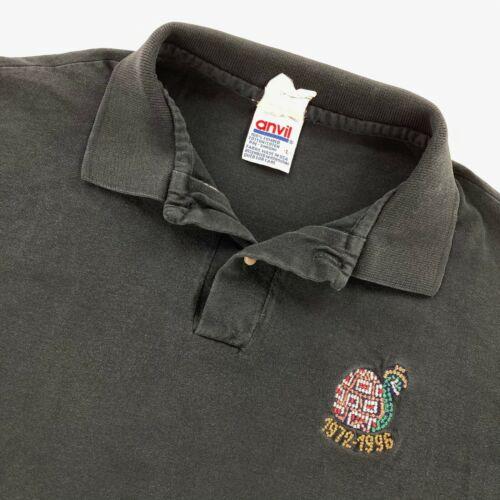 VTG Main Street Electrical Parade Disneyland Cast Member Shirt Black • Large