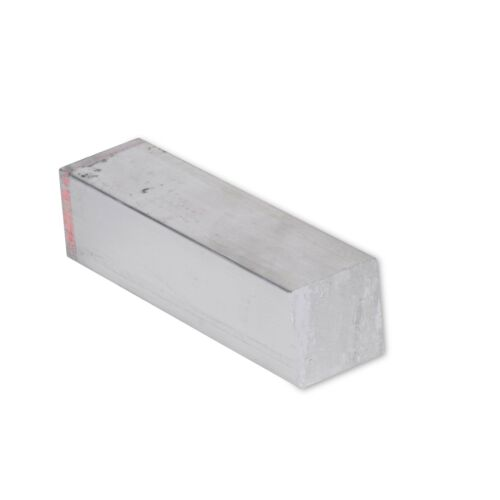 "1/2"" x 1/2"" Aluminum Flat Bar, 6061 Square, 24"" Length, T6511 Mill Stock, 0.5"""