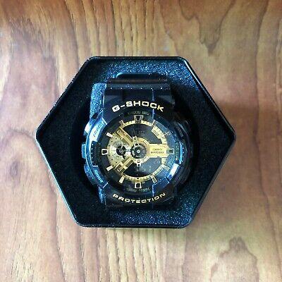 CASIO G-SHOCK Black Gold Series GA-110GB-1A Men's Watch