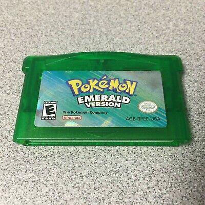 Pokemon Emerald Version (Game Boy Advance, 2005) Authentic Tested Dry Battery