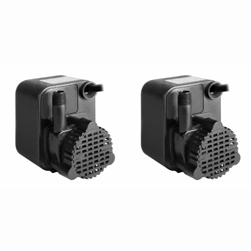 Little Giant PE 1 1/125 HP Small Submersible Encapsulated Water Pump (2 Pack)