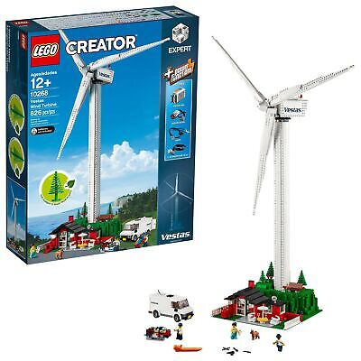 LEGO Creator Expert Vestas Wind Turbine 10268 Building Kit (826 Pieces) New