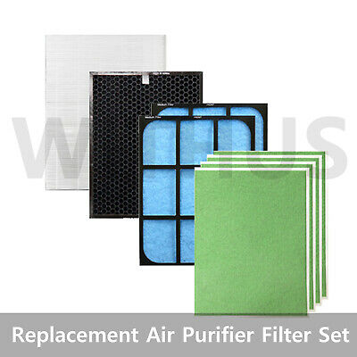 Replacement Air Purifier Filter Set for COWAY AP-1018F/ 1007GH/ 1008CH