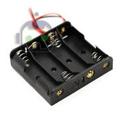 AA Battery Holder Case Box with Wire Leads for 4X Series AA Batteries 6V U