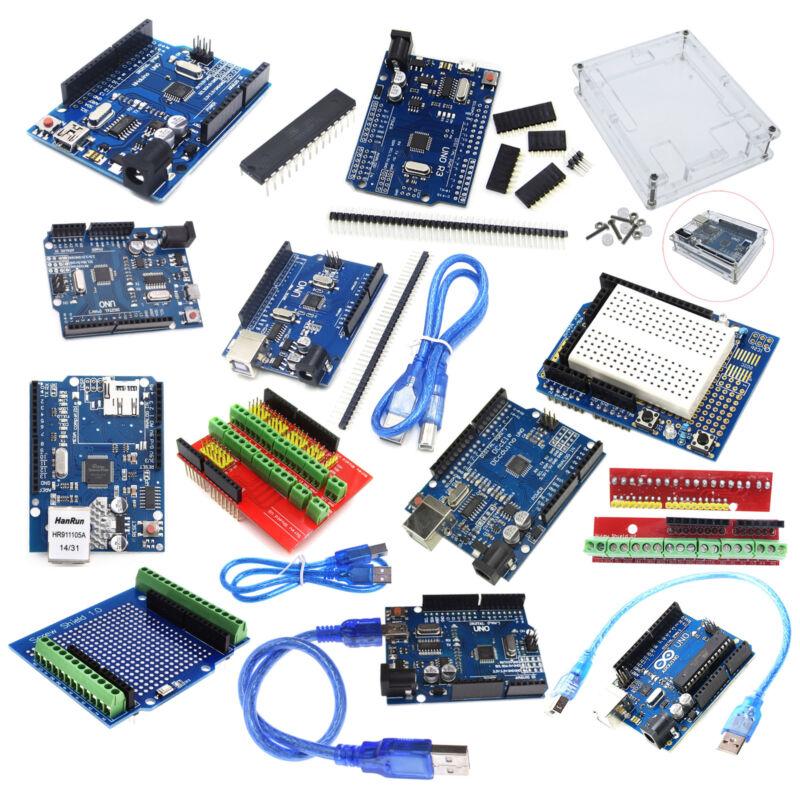 NEW UNO R3 ATmega328P CH340G/FT232 Chip Mini/MICRO USB Board for DIY W/Cable ASS