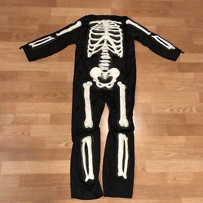 Skeleton Halloween Costume boys Size 8-10