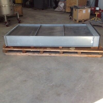 4 X 8 Water Coil Heat Exchanger. Diversified Heat Transfer 58w52.5x99-11-6-w-f