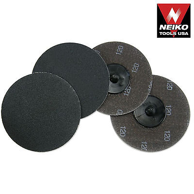 Neiko 11184a-10 Piece 3 120 Grit Silicon Carbide Sanding Discs - New
