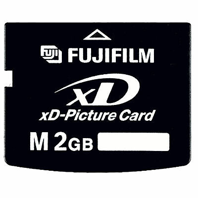 Fujifilm M 2GB XD 2 GB Fuji Memory xD-Picture Card for Olympus Camera FROM USA 2 Gb Picture Card