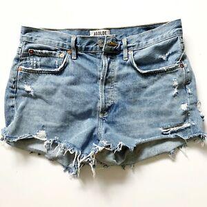 AGOLDE • 'Parker' Vintage Cut Off Women's Jean Short (Size 27)