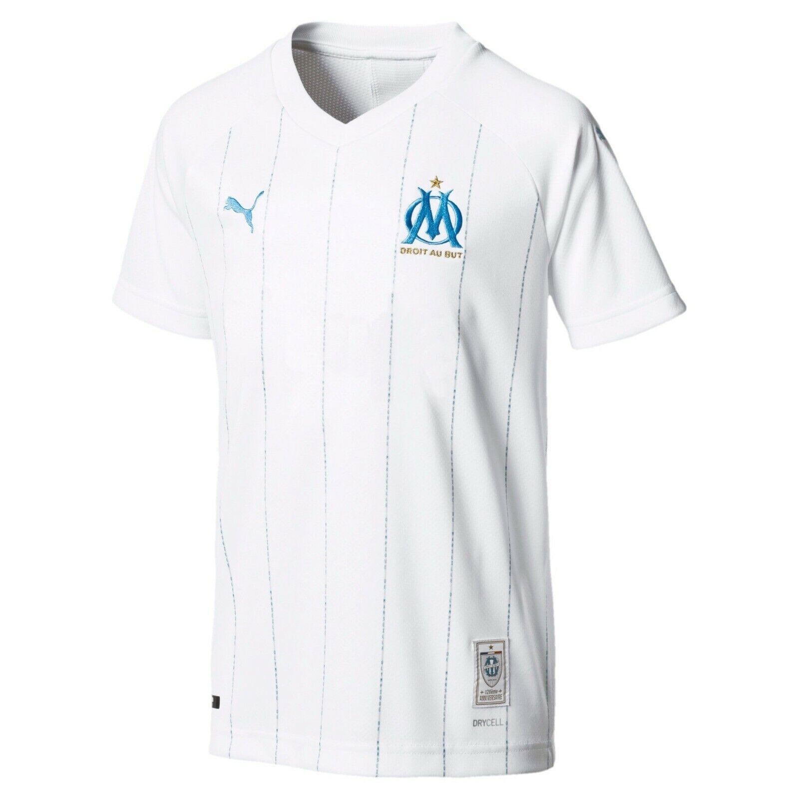 PUMA Olympique de Marseille Home Kit Jersey 2019/2020 Men's