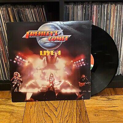 """Ace Frehley Live +1 """"Frehley's Comet"""" *Vinyl* Record Album 1988 LP"""