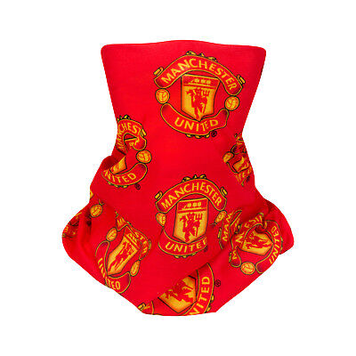 Manchester United FC Official Football Gift Multifunctional Neck Scarf Snood