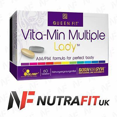 OLIMP QUEEN FIT VITA-MIN MULTIPLE LADY AM/PM vitamins minerals women 60 tabs