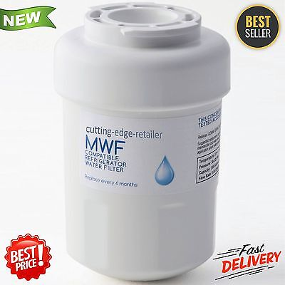 GE MWF SmartWater MWFP GWF Comparable Refrigerator Filter 6 Months Clear Water