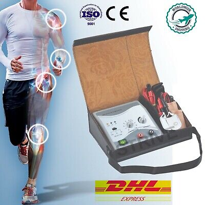 Mini Electrotherapy Physiotherapy Pulse Massager Muscle Stress Therapy Machine