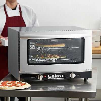 New Commercial Half Size Countertop Convection Oven 1.5 Cu. Ft. 120v 1600w