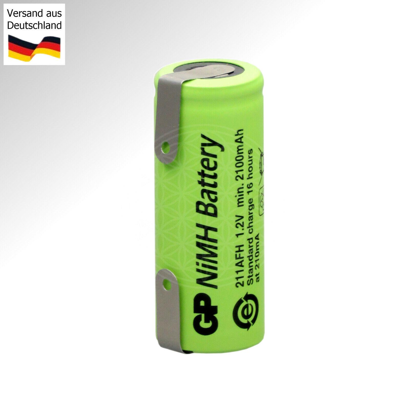 Batterie für Zahnbürste Braun Oral B Triumph v2 Type 3761 3762 3764 3728 42x17mm