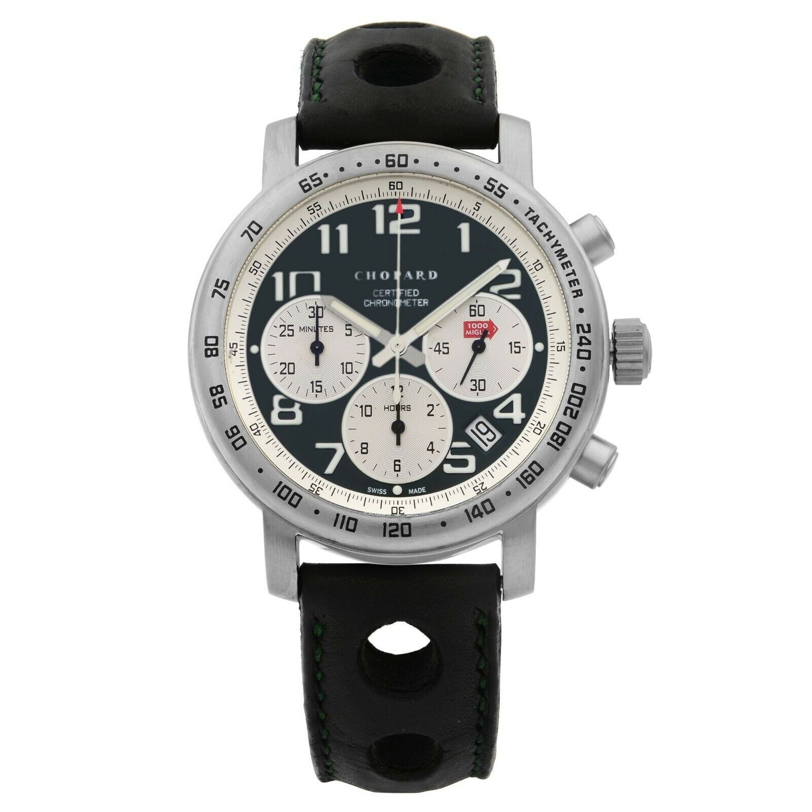 Chopard Mile Miglia Titanium Automatic Men's Watch 16/8915-102 MSRP $4880 - watch picture 1