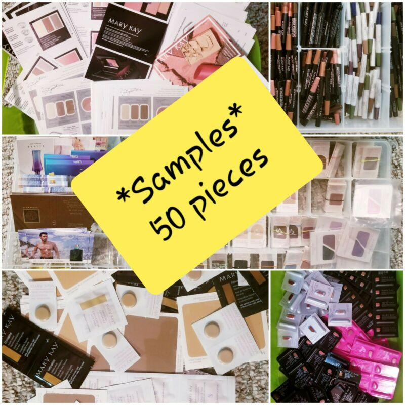 *50 piece Lot of Mary Kay Samples - FREE SHIPPING - PLEASE READ DESCRIPTION*