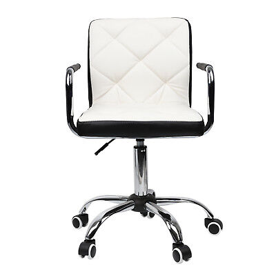 Modern Pu Leather Office Desk Computer Chair Seat Swivel Barstool Mixed Color