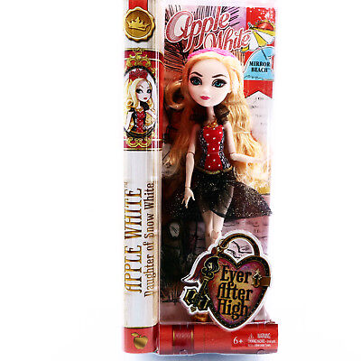 Ever After High Apple White Doll Mirror Beach EAH 2014 Toys For Girls Age 6 7 8
