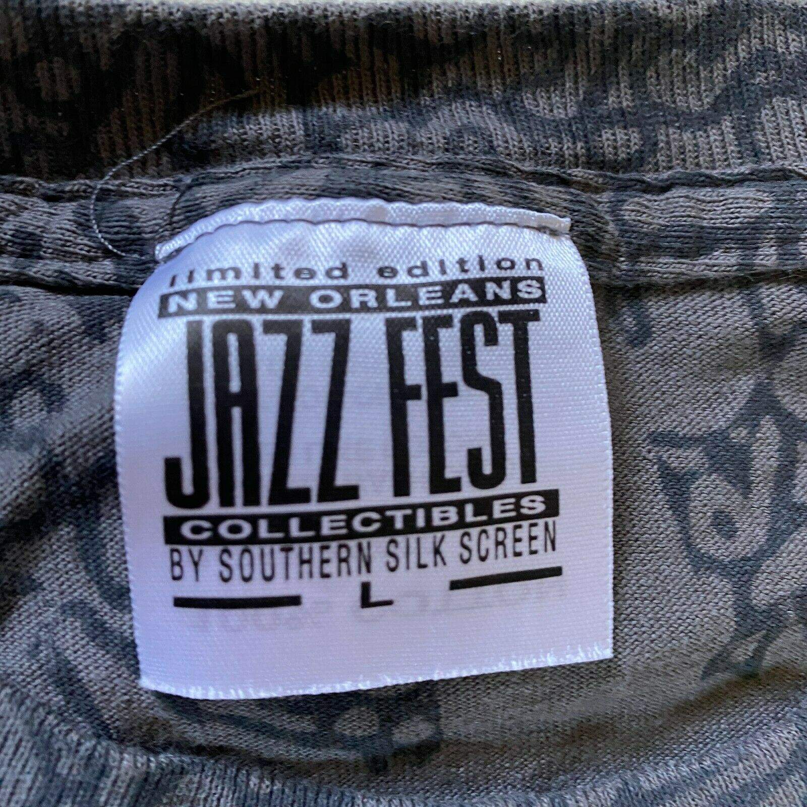 Chicago Jazz Fest T Shirt Large 40th 2018 Nola 300 New Orleans Tee Music Band - $25.19
