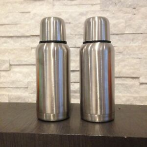 2 Stainless Steal Thermos - 20oz / 600ml