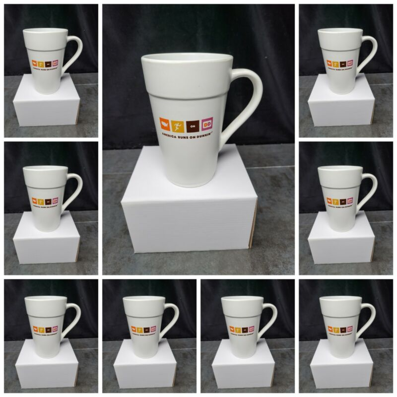 Dunkin Donuts Ceramic 16-Ounce Classic Coffee Mug BUY MORE SAVE MORE!