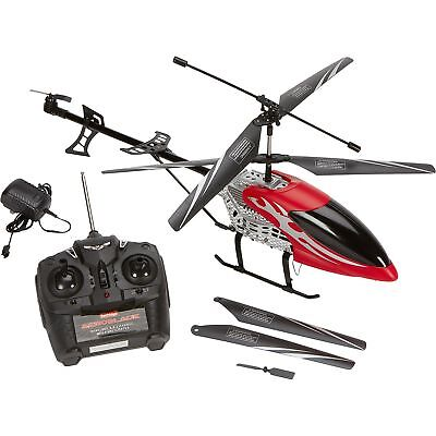 Red Aeroblade 3.5-Channel R/C Mega Helicopter RC Drone