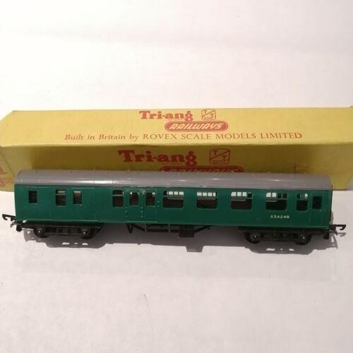 Tri-ang - T.133 SR Mainline Brake Second Coach No. S4718S - TT